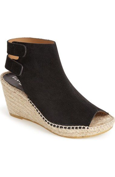 Bettye Muller 'Download' Suede Wedge Espadrille Sandal (Women) available at #Nordstrom