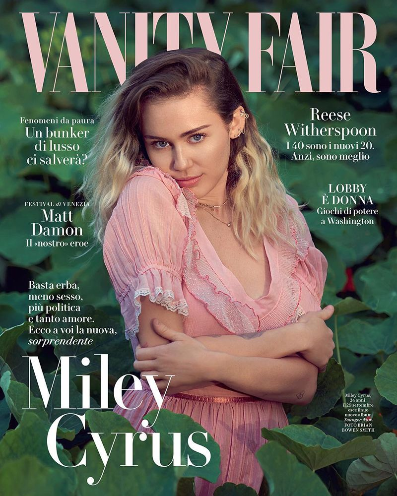 Miley Cyrus by Belan Owen Smith for Vanity Fair Italia 13 September ...