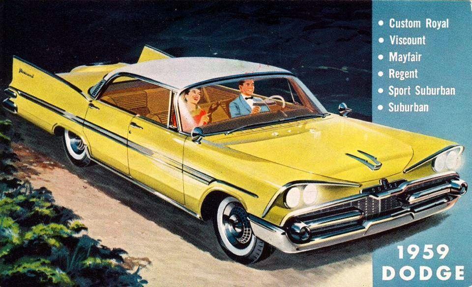 prova275 1959… Dodge brochure illustrationMopar Monday