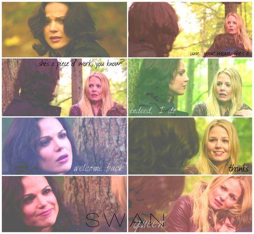 OUAT 2x9 Queen of Hearts- Regina and Emma reunion <3