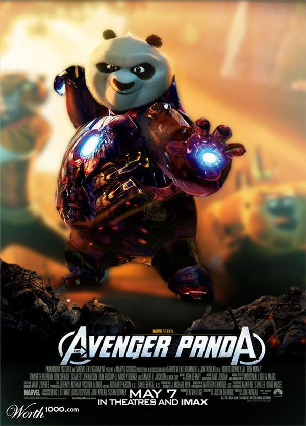 Kung Fu Panda Wallpapers With Quotes 25 Amazing Movie Poster Mash Ups Funny Pinterest