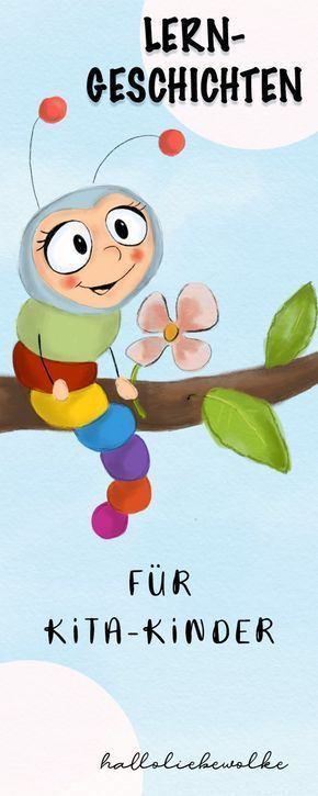 Lerngeschichten mit Wilma Wochenwurm – Das Buch jetzt im Handel erhältlich! (Werbung) • Hallo liebe Wolke