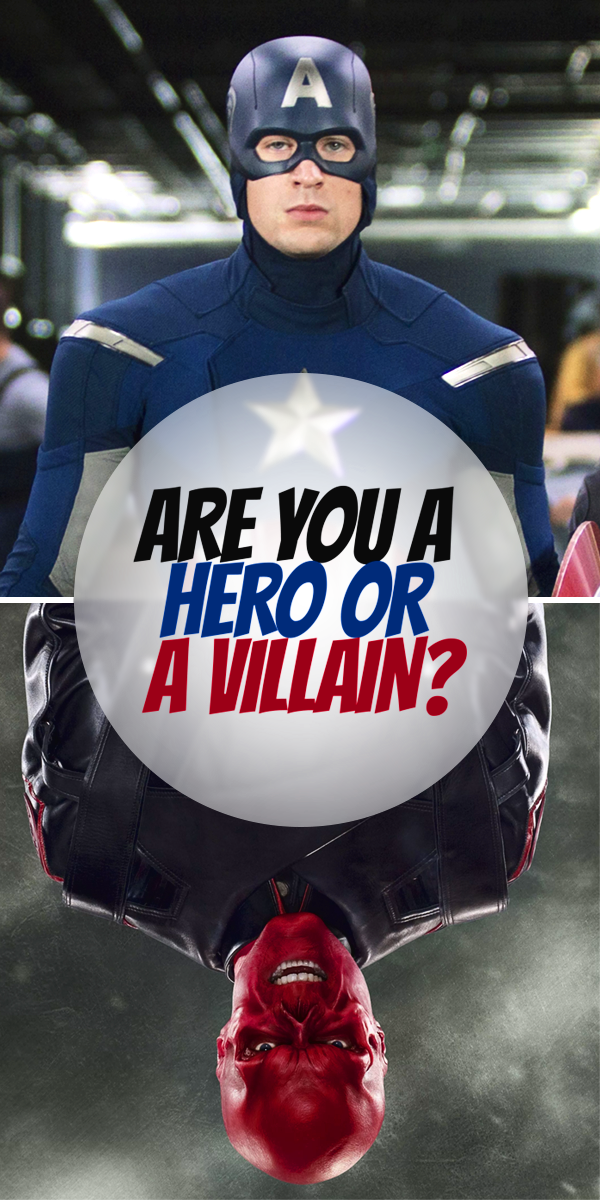 Are You A Hero Or A Villain? Playbuzz QuizzesPersonality ...
