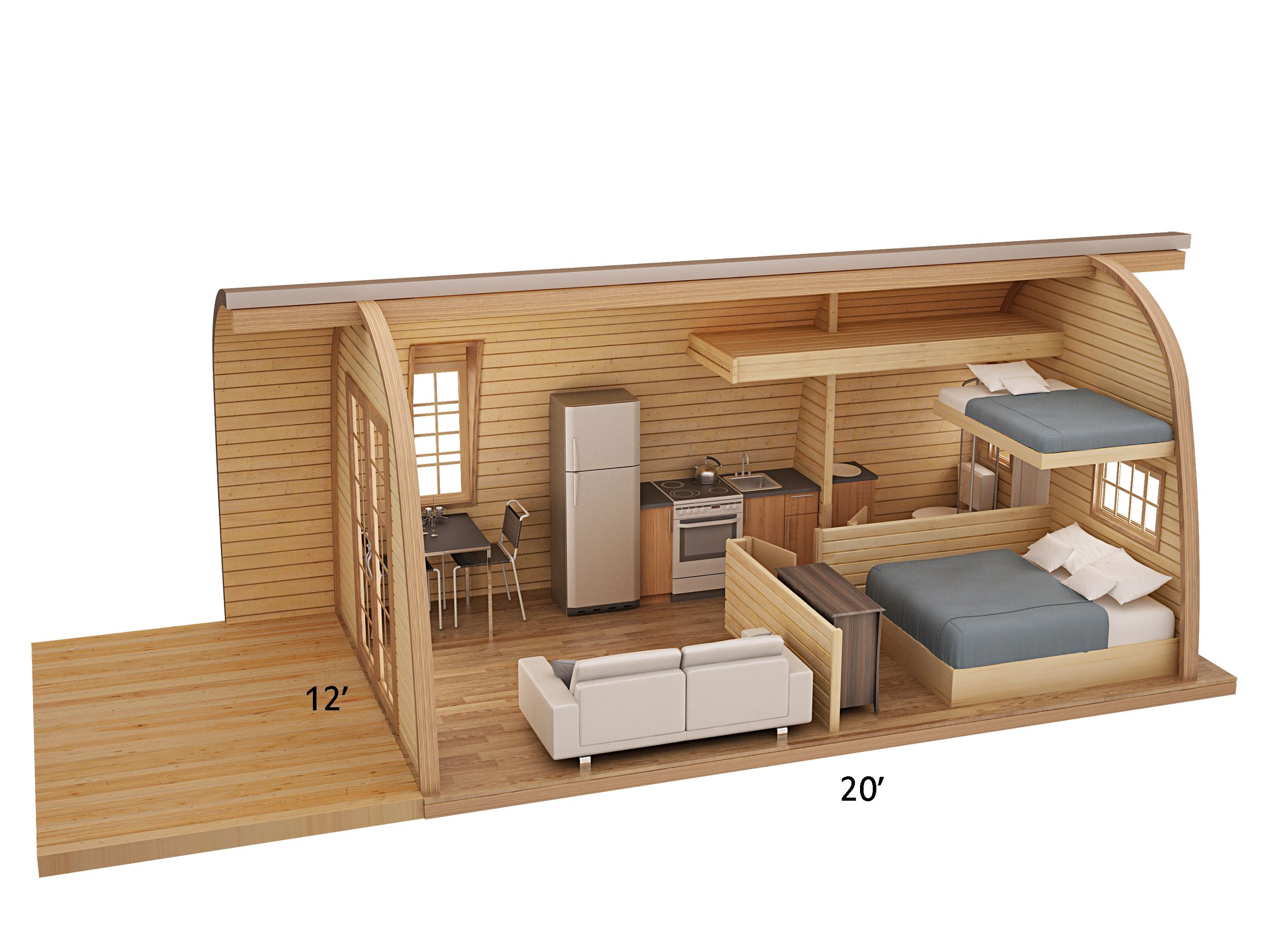 6x Plywood Kinderkamers : Pods google search small spaces in 2018 house tiny house