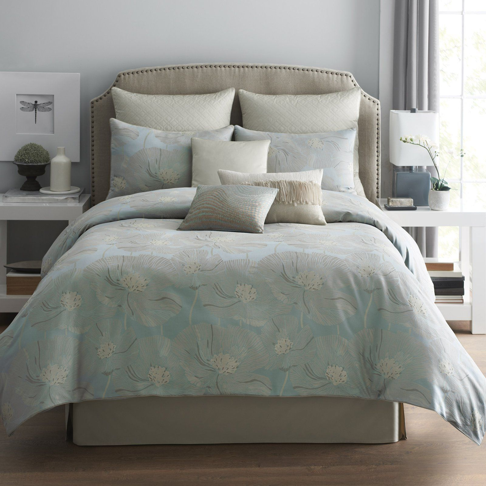 Have to have it. Modern Living Sterling Poppy Bedding Set - $189.98 @hayneedle