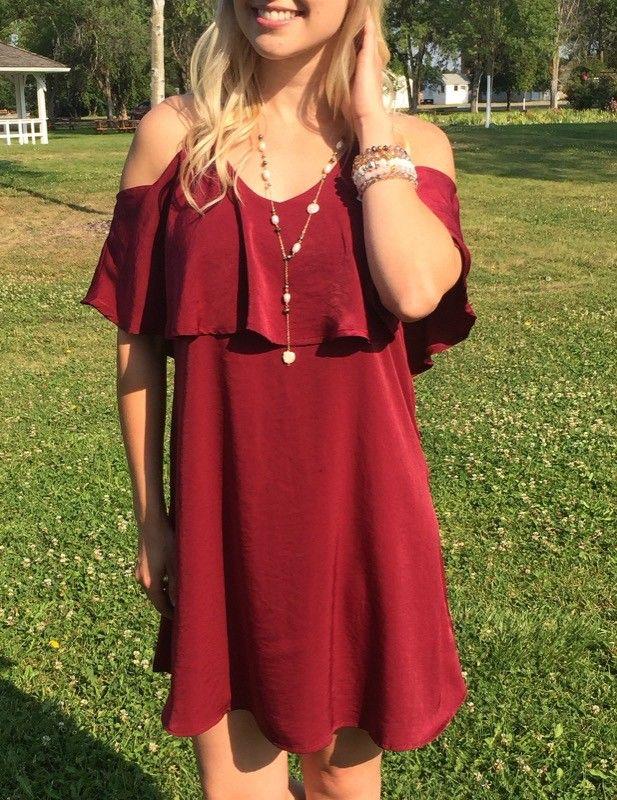 Burgundy love 😍 🌹 💃 #xoxoAL4You #burgundy #dressup #missoulamt #shopALB