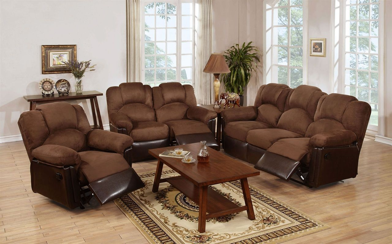 Comfortable Recliner Sofas For Your House  8 piece living room