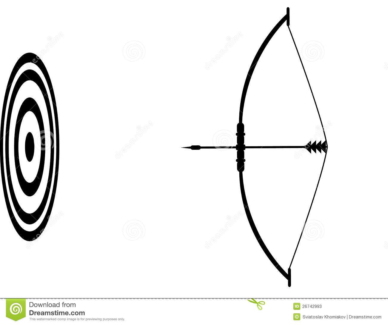 Bow And Arrow Pixel Art
