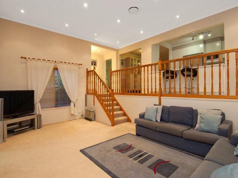 amazing split level living room | split level living room ideas | ... Design additionally ...