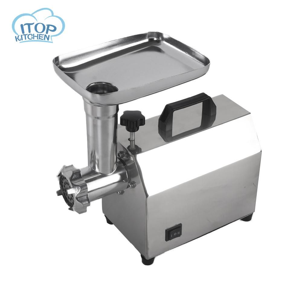 Itop w stainless steel home electric meat grinder sausage stuffer