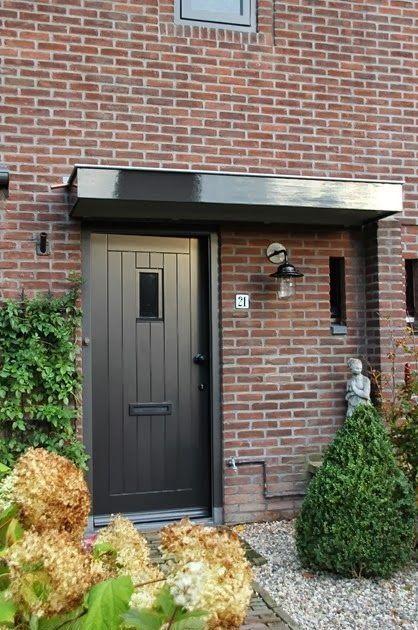 Welp mooie kleur voordeur (met afbeeldingen) | Voordeur, Zwarte EV-32