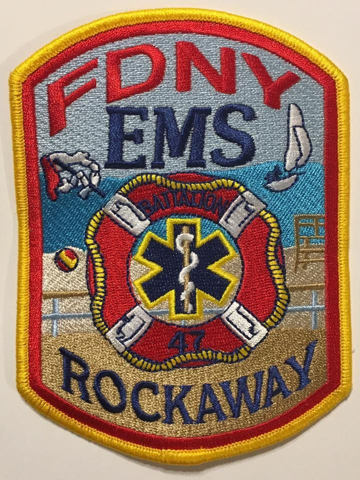 FDNY EMS Battalion 47 | fireman badges | Firefighter