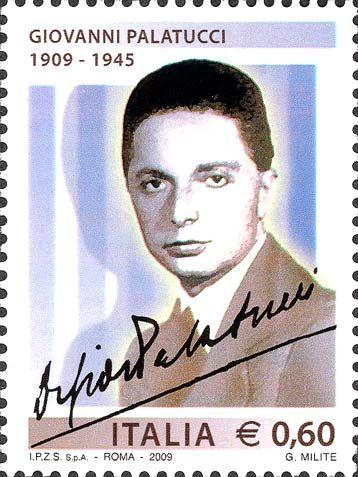 2009 - Centenario della nascita di Giovanni Palatucci - Ritratto e firma di Giovanni Palatucci
