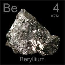 berilio elemento quimico 4 be