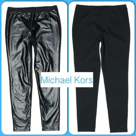 "Awesome Black Michael Kors Leggings Awesome Black Michael Kors Jeggings Rayon-68% Polyester-27% Spandex-5% Waist-30"" Hips-36"" Rise-10"" Inseam-29"" MICHAEL Michael Kors Pants Leggings"