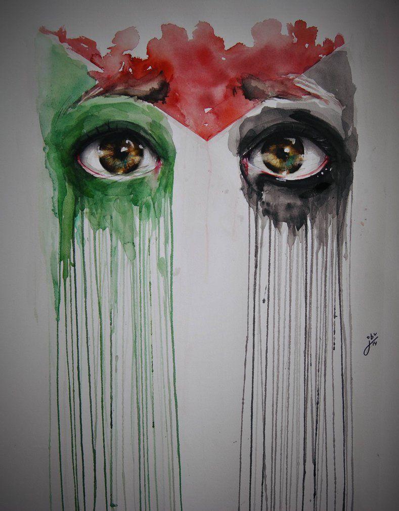 Free Palestine by Marraz-Dezagun.
