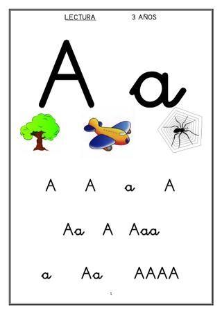 Cartilla De Lectura 3 4 5 Años Education Literacy Abc