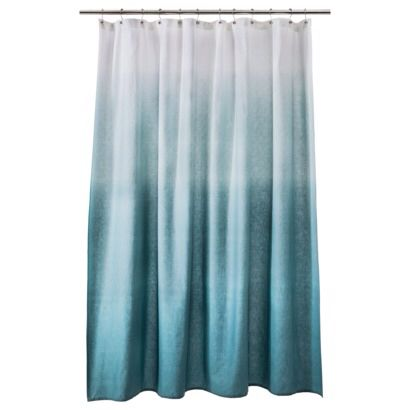 Tiffany Blue Creme Ombre Curtains Ombre Shower Curtain Blue