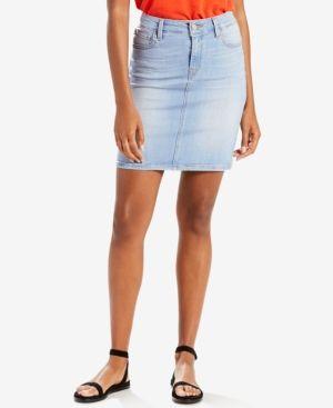87297502b Levi's Workwear Denim Skirt - Blue 32 (US 14) R   Products   Denim ...