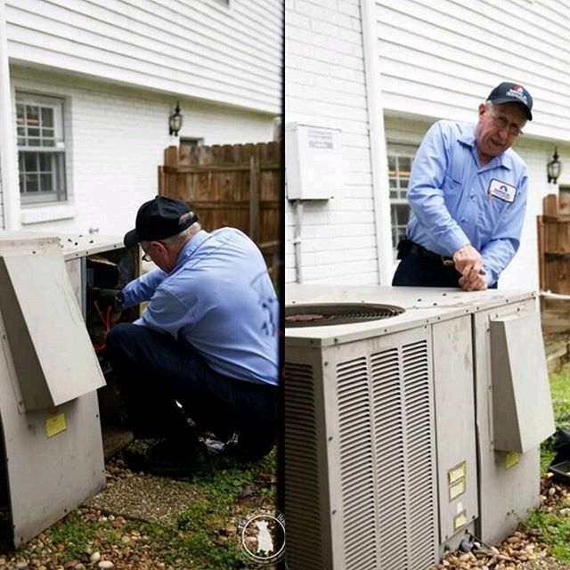 Thanks To The Awesome Blog The Handmade Home For Featuring Our Very Own Bruce He Was The Tech That Saved Handmade Home Ac Repair Heating And Air Conditioning