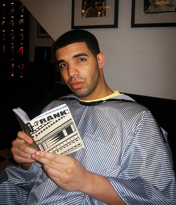 Drake with a book | Celebrities promoting reading ...