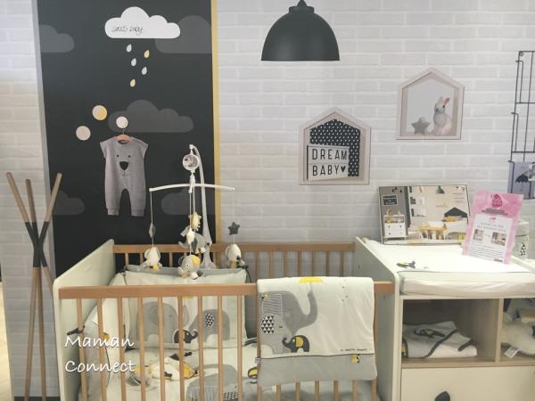 foto de Lit et table à langer collectio Oslo Sauthon Chambre bébé sauthon Chambre de bébé garçon