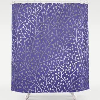 Periwinkle Shower Curtain Google Search Navy Throw Blanket
