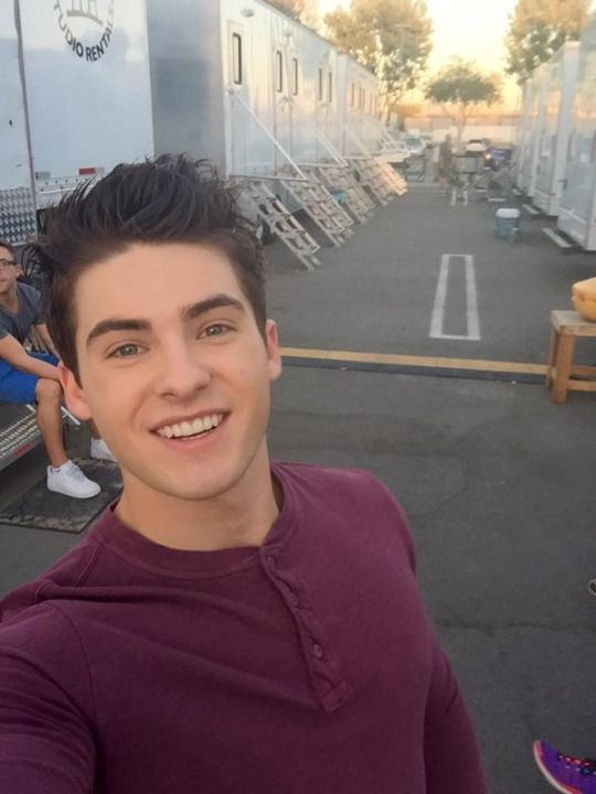 Cody Christian - Teen Wolf season 5b set