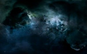 abstract,  clouds , storm, darkness,