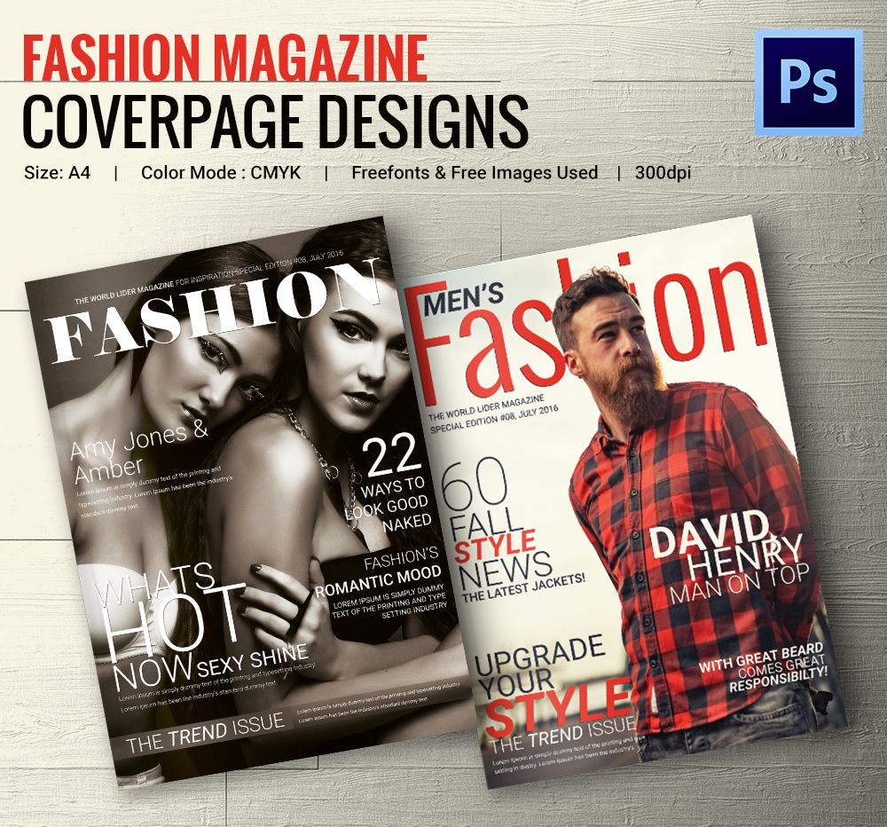 Pretty Free Magazine Cover Templates Photos - Entry Level Resume ...