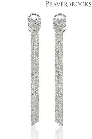 bb6e0e4d3 Buy Beaverbrooks Silver Tassle Drop Earrings from the Next UK online shop -  60 pounds