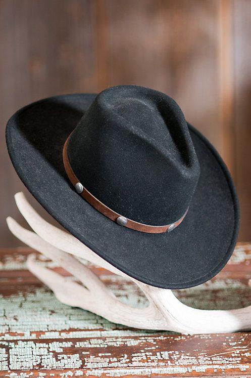 6de1673143d Stetson Tahoe Crushable Wool Hat
