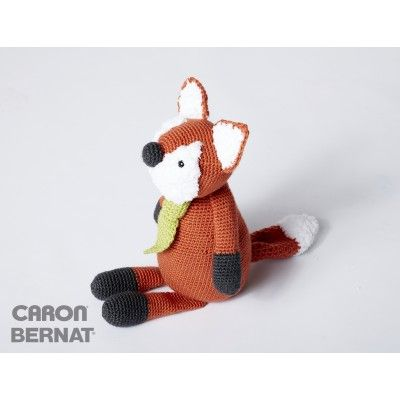 Francis the Fox is our favorite fox, crocheted in Caron Simply Soft ...