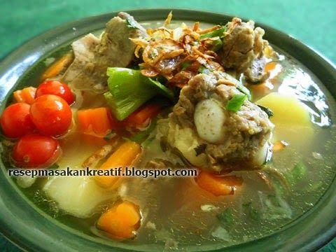 Sop Iga Sapi Bening Resep Masakan Resep Masakan Indonesia Masakan