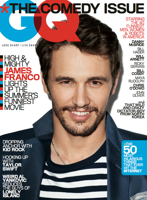 James Franco - GQ Magazine Cover [United States] (June 2013)