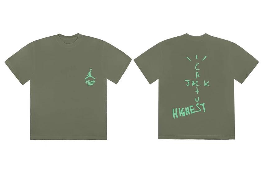 Cactus Jack Jordan Highest T Shirt Ii Travis Scott Cactus Jack T Shirt Shirts