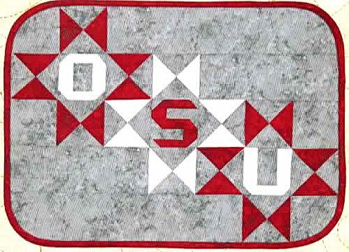 Osu Placemat Pattern By Raggedy Ruth Designs At Creative
