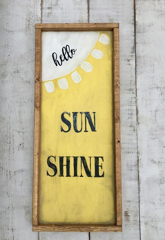 Summer/ wood sign/ spring/ signs/ country decor/ rustic/ wall decor ...
