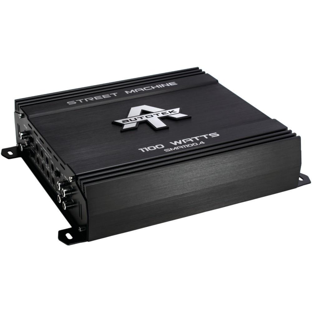 Autotek Street Machine 4-channel Class Ab Amp (1100 Watts)