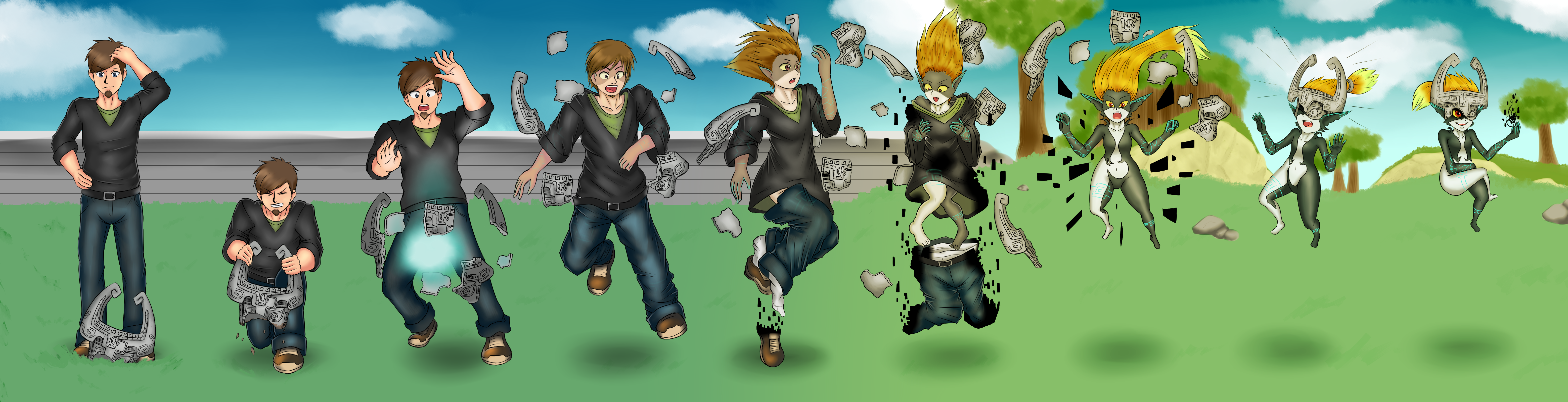 Commission - Midna TG/TF Sequence by KAIZA-TG on DeviantArt | Turn