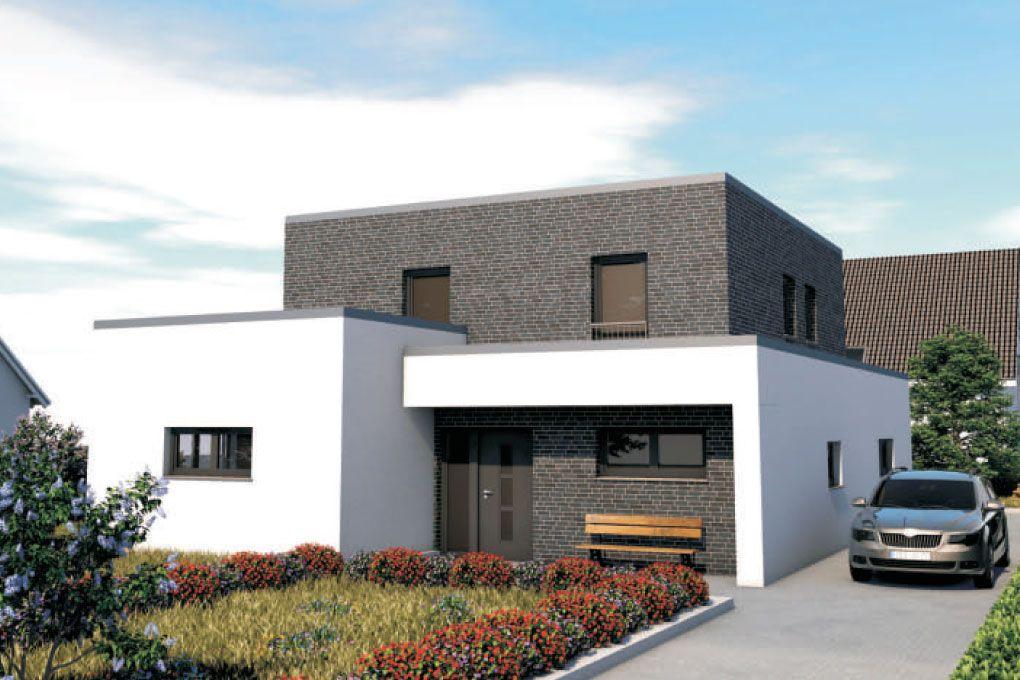Concept Design 191 Bauhaus Mit Staffelgeschoss Bauunternehmer Schob Haus Bauen Haus Moderne Hauser
