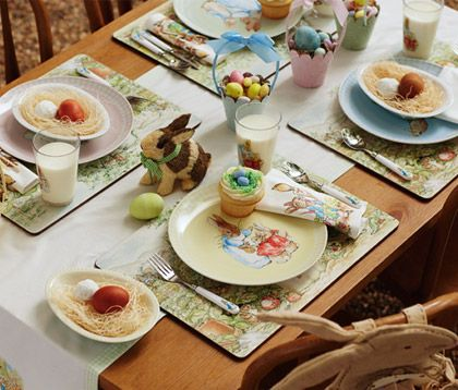 How to Throw a Rustic Easter Celebration. All sorts of ideas, from decorations, to crafts, to food.