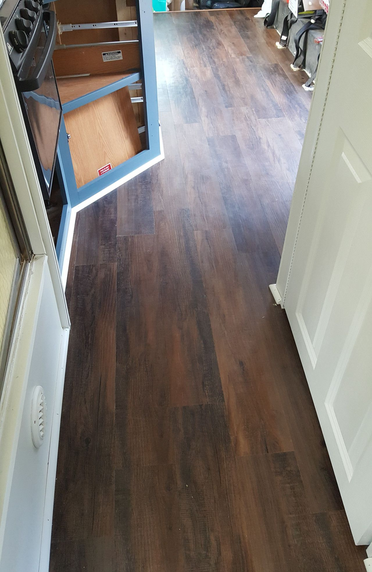 Lowes Peel And Stick Vinyl Plank Flooring Installation For Rv