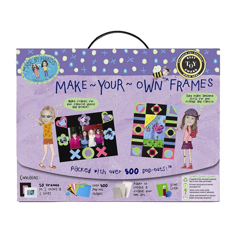 Made By Hands Make Your Own Frames Kit, Multicolor   Products