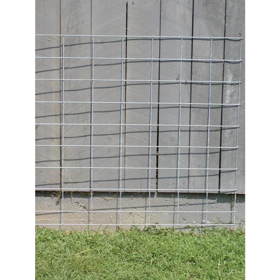 Tarter Actual 4 166 Ft X 16 Ft 10 Wire Stock Panel Steel Farm Fence Panel At Lowes Com Farm Fence Fence Panels Fence Styles