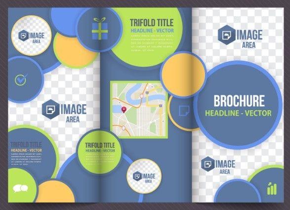 A modern business tri fold brochure vector template in a4 size a modern business tri fold brochure vector template in a4 size wajeb Choice Image