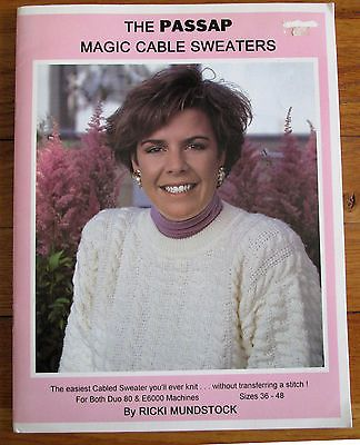 Cables without Transferring! PASSAP MAGIC CABLE SWEATERS By Ricki Mundstock