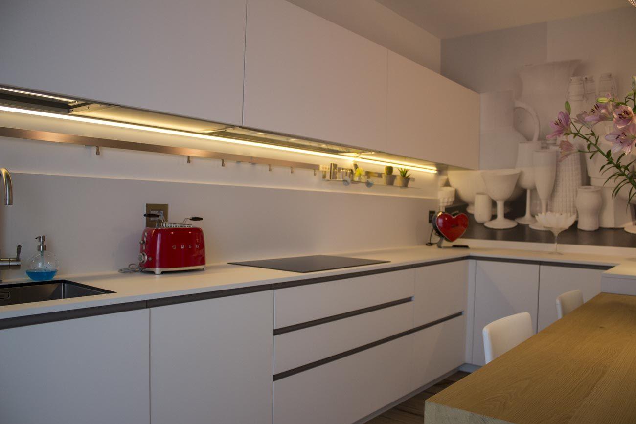 Piano A Induzione Bianco Ciesse Cucina Kitchen Casa Home