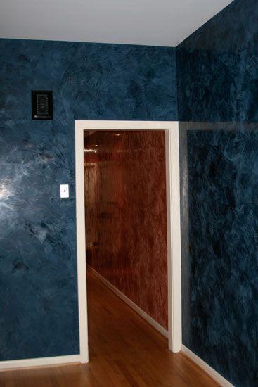 Pin By Venetian Plaster Art On Venetian Plaster On The: Venetian Plaster Hallways