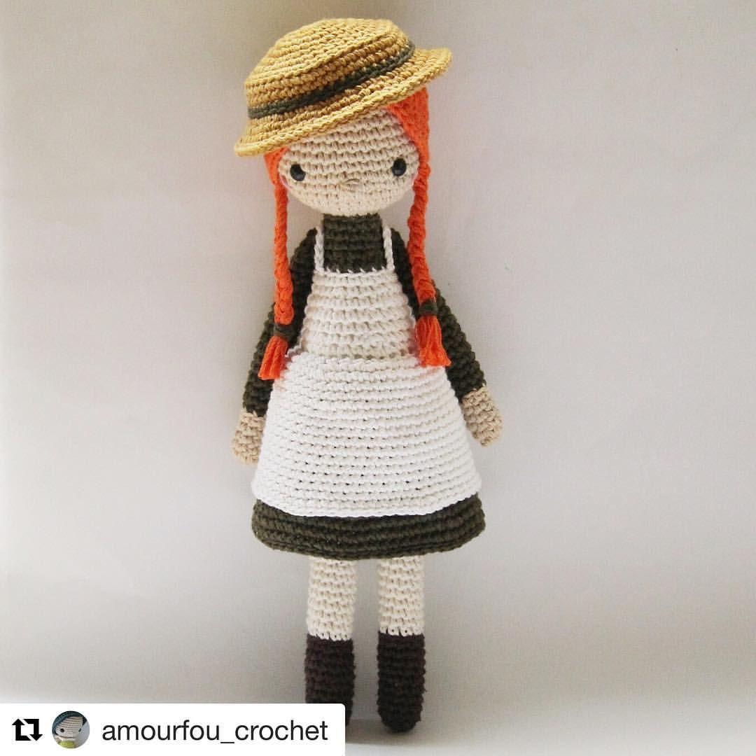 Pattern Amourfou Crochet Crochet Dollpattern